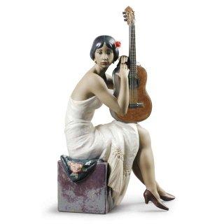 リヤドロ Lladro 【 フラメンコを歌う人 】  01009177 THE FLAMENCO SINGER