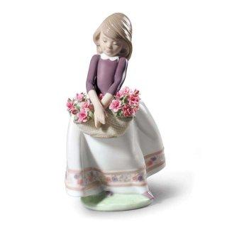 リヤドロ Lladro 【 五月のお花(特別版) 】  01009178 May flowers (special edition)