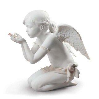 リヤドロ Lladro 【 天使の息 】  01009223 A fantasy breath