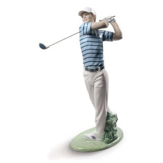 リヤドロ Lladro 【 プロゴルファー 】  01009228 Golf champion