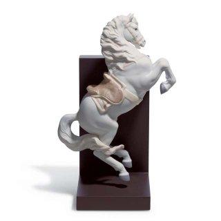 リヤドロ Lladro 【 跳躍 】  01018254 HORSE ON COURBETTE