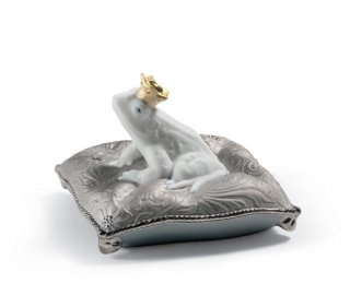 リヤドロ Lladro 【 カエルの王様 】  01007188 ENCHANTED PRINCE (RE-DECO)