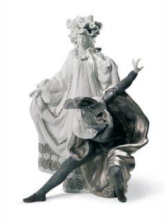 リヤドロ Lladro 【 ベネチアンカーニバル(RE-DECO) 】  01007194 VENETIAN CARNIVAL (RE-DECO)