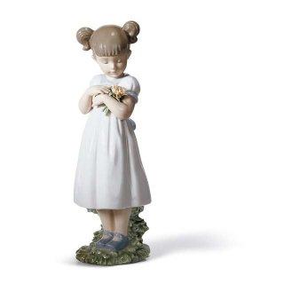 リヤドロ 人形  『素敵なお花  01008021 FLOWERS FOR MOMMY』