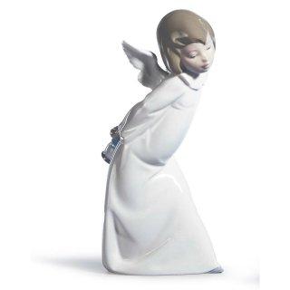 リヤドロ Lladro 【 天使の考えごと<わかってきたぞ> 】  01004960 CURIOUS ANGEL FIGURINE