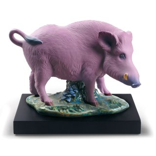 リヤドロ Lladro 【 亥(実直)  】  01009120 THE BOAR FIGURINE. LIMITED EDITION
