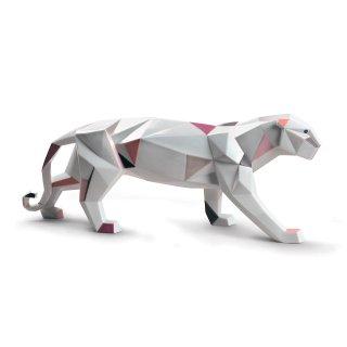 リヤドロ Lladro 【 Origami - パンサー 】  01009298 PANTHER