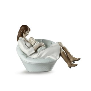 リヤドロ Lladro 【 母との眠り 】  01009380 FEELS LIKE HEAVEN MOTHER FIGURINE LLADROP