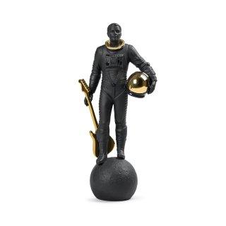 リヤドロ Lladro 【 ウォーキング・オン・ザ・ムーン(Black&Gold) 】  01009409 WALKING ON THE MOON FIGURINE. BLACK & GOLD