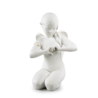 リヤドロ Lladro 【 優しい祈り 】  01009444 HEAVENLY HEART ANGEL FIGURINE