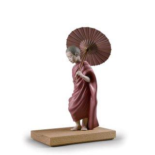 リヤドロ Lladro 【 太陽への道 】  01012556 SUN PATH FIGURINE. BUDDHA