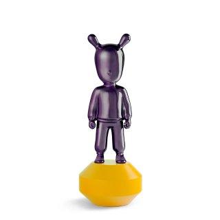リヤドロ Lladro 【 The Guest - 小 (Purple/Yellow) 】  01007746 THE GUEST LITTLE-PURPLE ON YELLOW. SMALL.