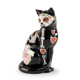 リヤドロ Lladro 【 シュガースカルキャット 】  01009481 CATRINA CAT
