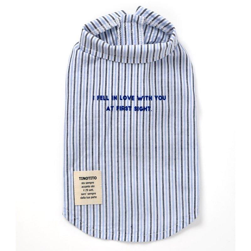 マルチストライプシャツ (Blue)の画像