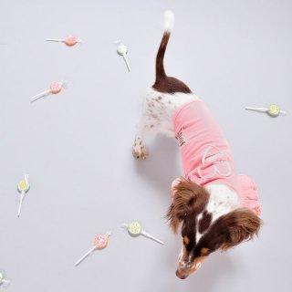 ショルダーフリルTシャツ(Pink)