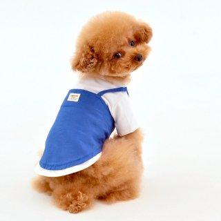 キャミソール付きTシャツ(Blue)