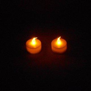 電池式 LEDキャンドルライト 【2個】 (特典)手漉半紙40枚