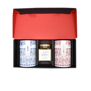 【送料込】 薩摩紅茶としょうが紅茶と鹿児島県産はちみつの詰め合わせ