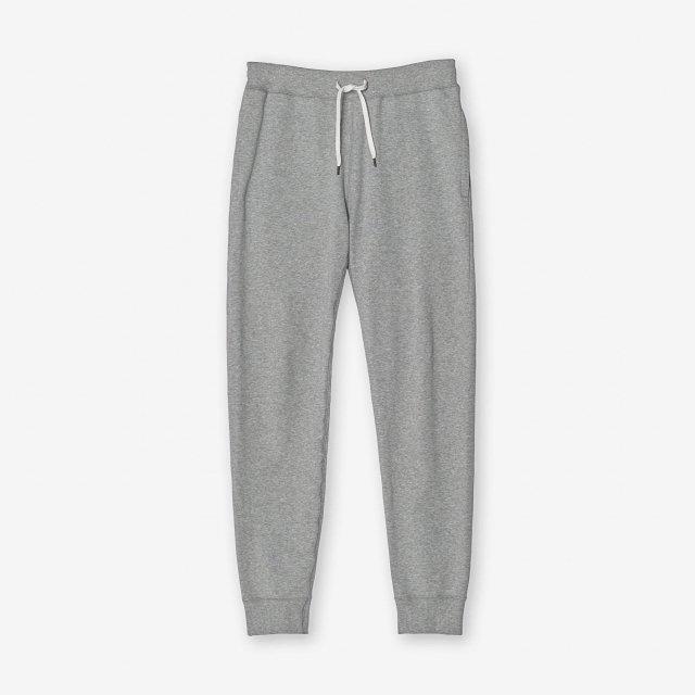 <span>Cotton&Silk Sweat Pants / Grey</span>コットン&シルク スウェットパンツ / グレー