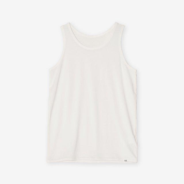 <span>Silk Inner Tank-top / White</span>シルク インナータンクトップ / ホワイト