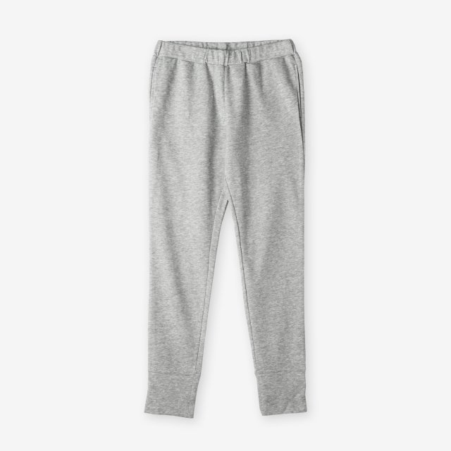 <span>Cotton&Silk Easy Pants / Grey</span>コットン&シルク イージーパンツ / グレー