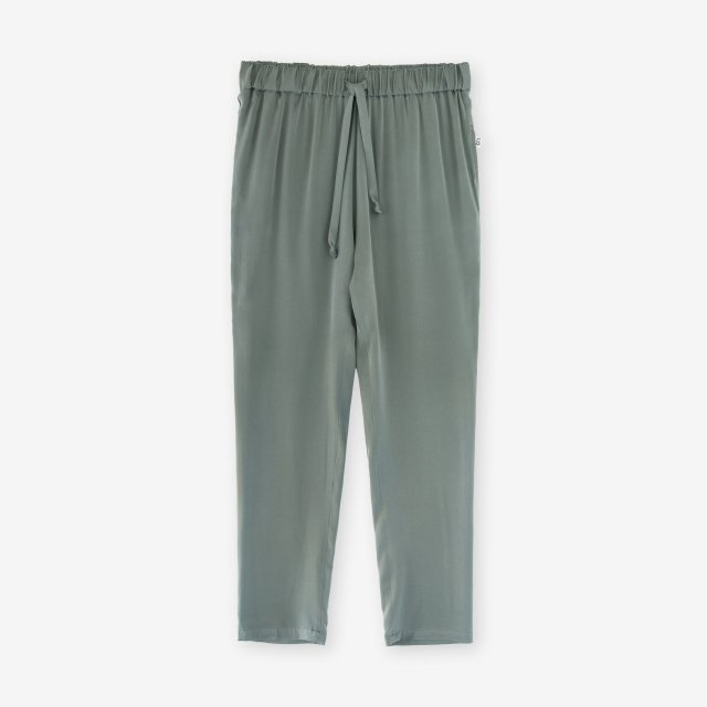 <span>Silk Easy Pants / Khaki</span>シルク イージーパンツ / カーキ