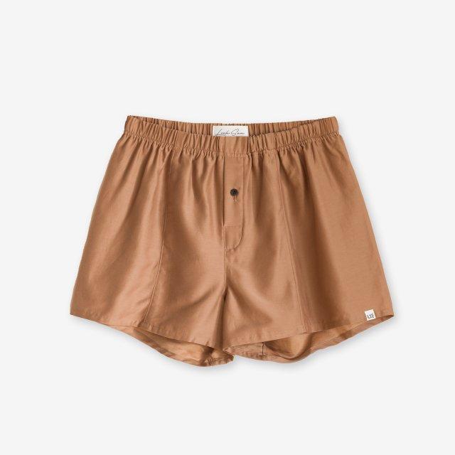 <span>Silk Boxer Shorts / Beige</span>シルク トランクス / ベージュ