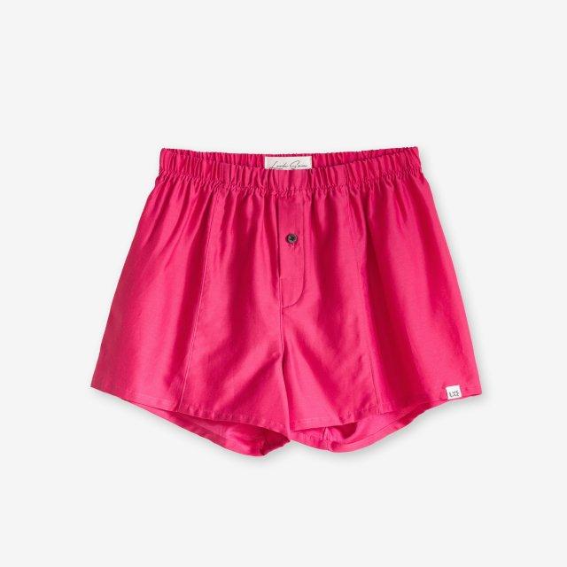 <span>Silk Boxer Shorts / Rose</span>シルク トランクス / ローズ