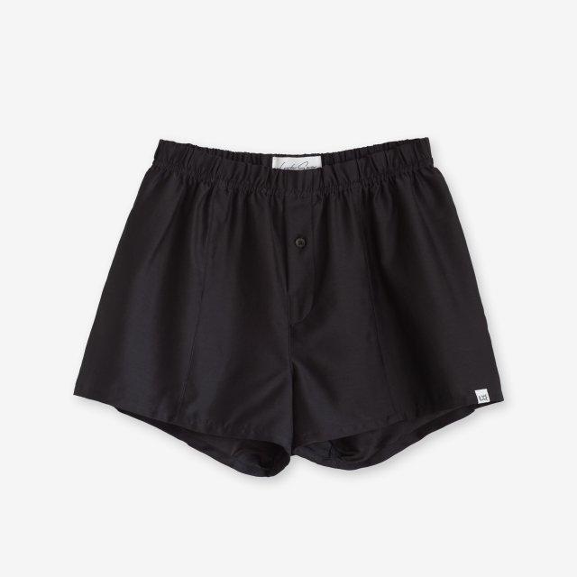 <span>Silk Boxer Shorts / Black</span>シルク トランクス / ブラック