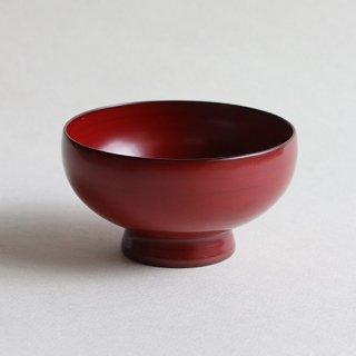 赤木明登作 奥羽汁椀・中・赤