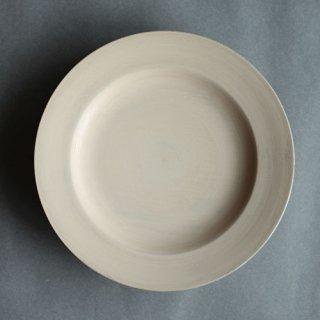 赤木明登作 デザート皿・白