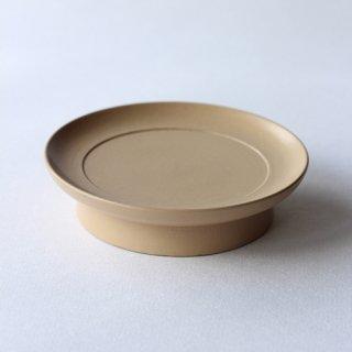 赤木明登作 茶の皿・白漆
