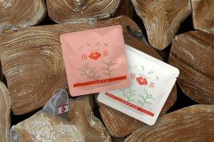 プチギフト に!手土産 に!【 椿茶 ミニパック 】  紅茶 の味わい 自然な甘さ  / ノベルティ や 記念品にも 引き出物 の一品に。