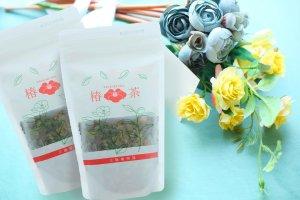 【 椿茶 リーフ 白  50g2個セット】 リラックスタイム に  紅茶の味わい 【送料無料!】糖質ゼロ!無農薬 ノンカフェイン 寝る前に 仕事疲れに ほっとした時間を