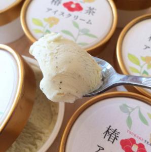 ギフトに!【 椿茶アイスクリーム ・ 椿茶ティーバッグ スペシャルセット 】 送料無料!