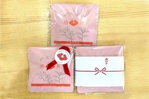 選べるラッピング☆3タイプ【 椿茶 ミニパック/バラ】  紅茶 の味わい 自然な甘さ  / プレゼントやノベルティ  記念品にも 引き出物 のかわいい一品に。