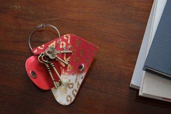 key wrap-彩- 清少納言 紅