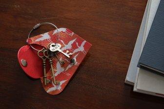 key wrap-彩- 千羽鶴