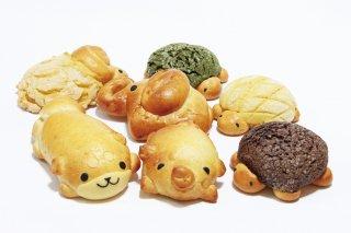 京都産 動物パンギフトボックス7個入り(冷凍)