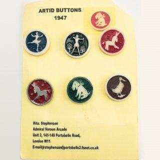 A-017 Antique ARTID BUTTONS part2