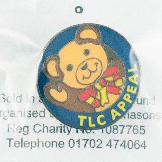 A-027 TLC Appeal チャリティー バッジ No.2