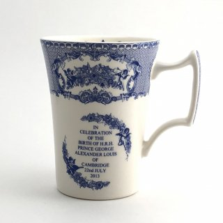 A-003 Spode ロイヤルベビー誕生記念マグカップ『THE SPODE BLUE ROOM COLLECTION』