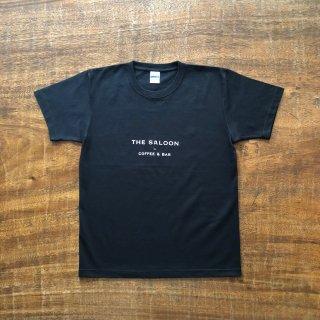 THE SALOON Original Logo T-shirt BLACK