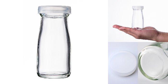 プリン・ヨーグルト瓶  A丸90N