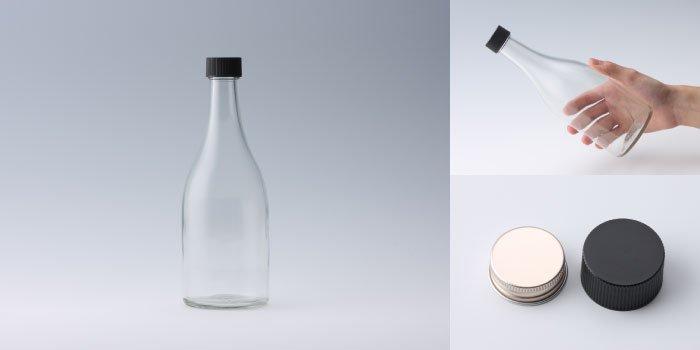 酒瓶 ・ 焼酎瓶 SKK500 透明