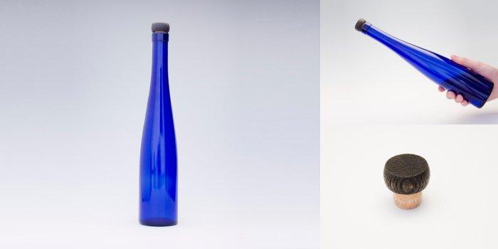 ワイン・洋酒瓶 375モーゼルCBT  木口コルク付