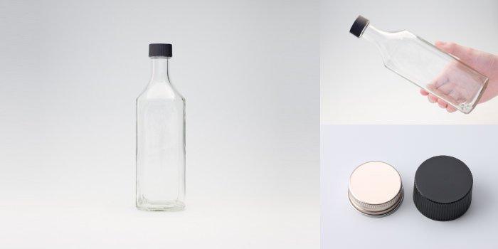 酒瓶 ・ 焼酎瓶 S-500角PP (F)