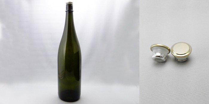 酒瓶 ・ 焼酎瓶 清酒1800-DS(一升瓶)  ダークスモーク