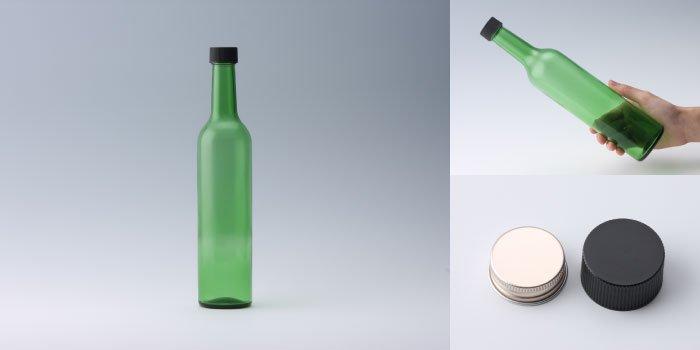 ワイン・洋酒瓶 スリムワイン500 グリーン