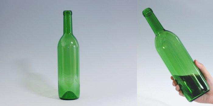 ワイン・洋酒瓶 ワイン720 木口 グリーン